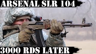 Arsenal SLR104, 3000rds Later: The Rock