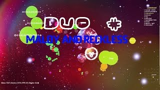Agar io   Duo # maloy and reckless