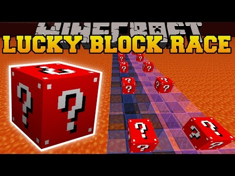 minecraft:-trolling-red-lucky-block-race---lucky-block-mod---modded-mini-game