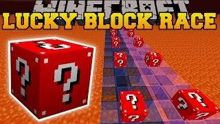 Minecraft: TROLLING RED LUCKY BLOCK RACE - Lucky Block Mod - Modded Mini-Game