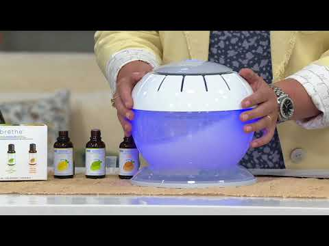 HoMedics brethe Air Revitalizer with 3 Citrus Extracts on QVC