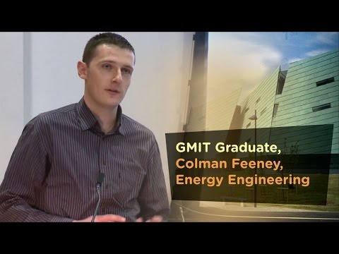 Energy Engineering Graduate, Colman Feeney - Galway Mayo Institute of Technology - GMIT