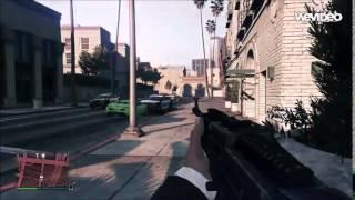 Nuestro primer gameplay en GTA V