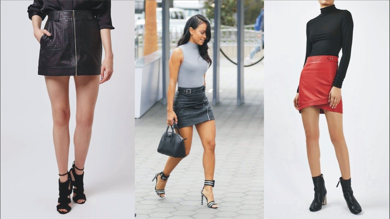 2019 year for women- Mini Leather skirt topshop pictures