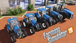 Farming Simulator 19 | ALL NEW HOLLAND T SERIES TRACTOR !!! - FARM 2019 -