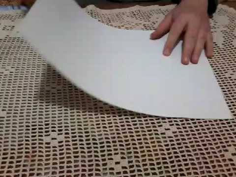 How to make paper kunai ?