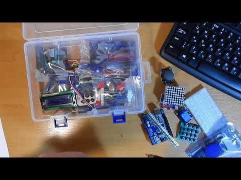 Распаковка и обзор учебного пакета Ардуино (RFID Starter Kit For Arduino UNO R3) с AliExpress