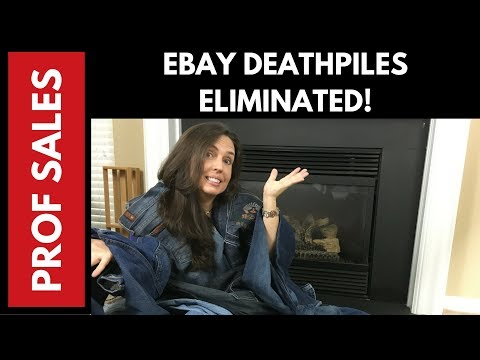 Ebay Inventory Management NO MORE DEATHPILES!