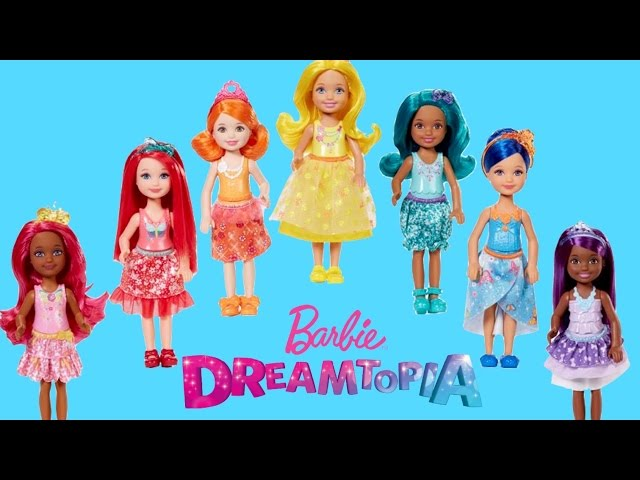 Barbie Dreamtopia Rainbow Cove Chelsea Doll Gift Set| Barbie Dolls Unboxing and Review