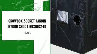 nice420cbd - Growbox secret jardin hydro shoot 60x60x140