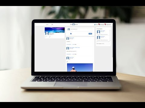 Lesson 16: Create a Social Networking Website - Creating Navigation Bar