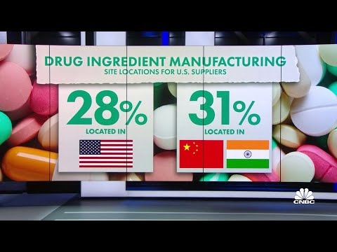U.S. reliance on foreign drug manufacturing a security risk: Report