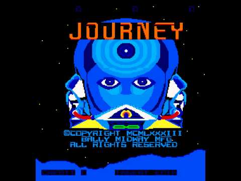 Arcade Game: Journey (1983 Midway)