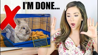 REACTING TO OUR SUBSCRIBERS RABBIT HABITATS | PT. 3