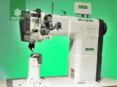 Máquina de Coluna Eletrônica Zoje para Costurar Calçado e Couro | ZJ-9610 - Post Bed Machine