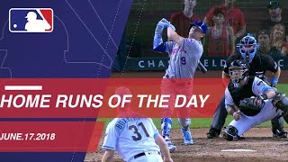 Watch all the home runs from June 17, 2018