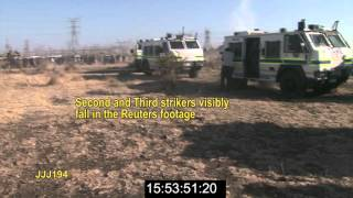 Marikana: Annexure V5   Video presentation on the shots fired at Scene 1 FINAL