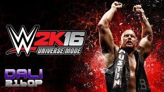 WWE 2K16 Universe Mode PC UltraHD 4K Gameplay 60fps 2160p