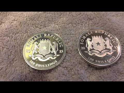 Fake Somali Silver Elephants EBay