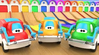 Cars Color Change Water Slider Track - Learning Colors for Children 3D Kids Toddler Educational