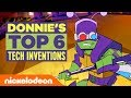 Donnie's Top 6 Tech Inventions 📱💻⌚️ Rise of the TMNT | #TurtlesTuesdays