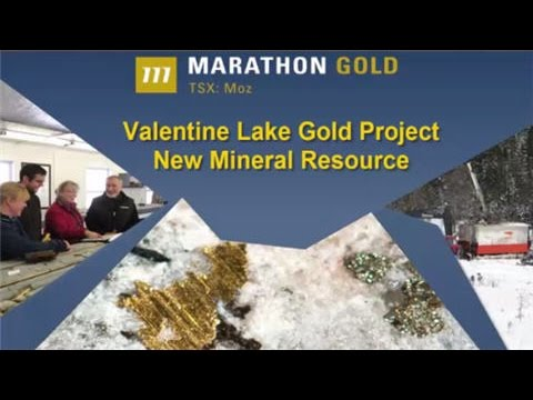 Marathon Gold Corp. (TSX: MOZ) Announces new mineral resource on their Valentine Gold project