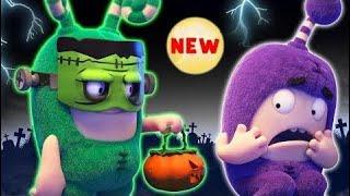 Oddbods | Strange Halloween Costumes | Funny Halloween Cartoons For Kids