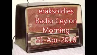Radio Ceylon 21-04-2016~Thursday Morning~03 Purani Filmon Ka Sangeet