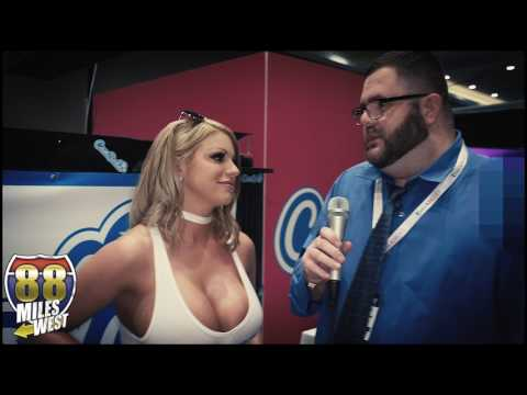 Brooklyn Chase interview at the Adult Entertainment Expo 2017