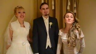 Видеоотзыв от Ольги и Юрио (русско-словенская свадьба)