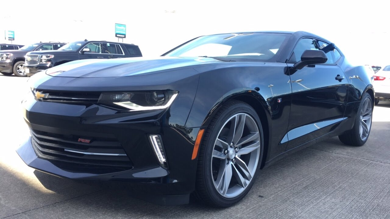 2017 Chevrolet Camaro 2lt 6 Speed Manual Review Youtube