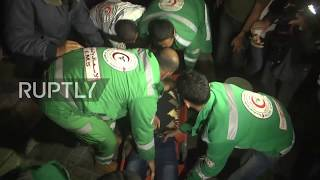 State Of Palestine: Idf Airstrikes Hit Gaza After 200 Rockets Strike Southern Is