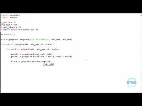 Python Exercise 9.4 - Colour Creator