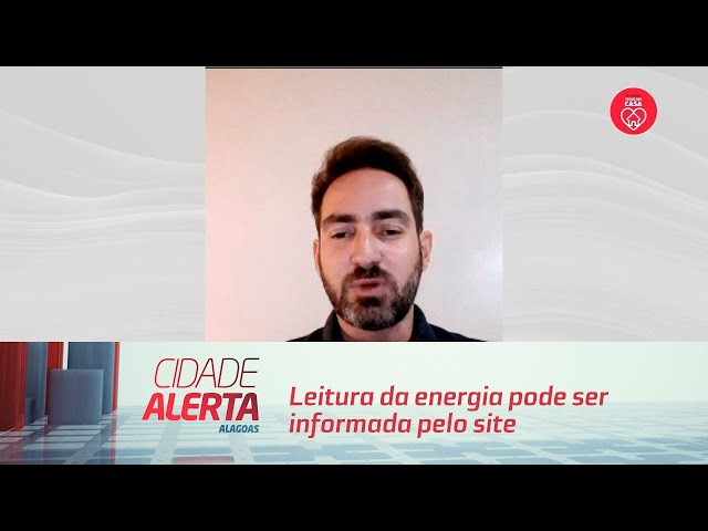 Leitura da energia pode ser informada pelo site