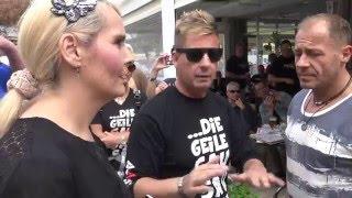 Mallorca   Streit!!! Almklausi vs. Helena Fürst (Willi Herren)   Ballermann 08.05.2016