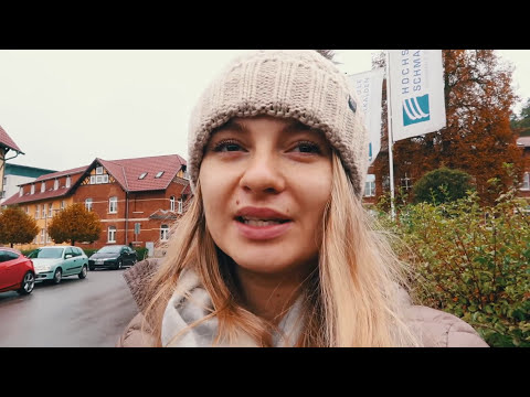 Our GERMAN STUDENT LIFE // VLOG from Schmalkalden // Showing UNIVERSITY and CITY