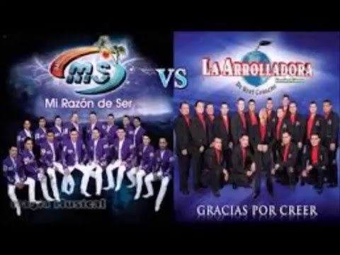 arrolladora banda el limon vs banda ms mix