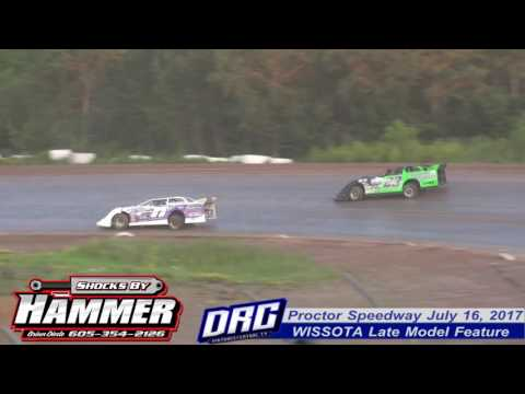 Proctor Speedway 7/16/17 WISSOTA Late Model Feature Highlight