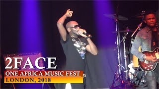Baixar 2FACE PERFORMANCE | ONE AFRICA MUSIC FEST, LONDON 2018 [ Nigerian entertainment ]