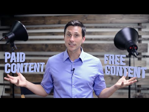 How to Know if You're Giving Away TOO MUCH Free Content!