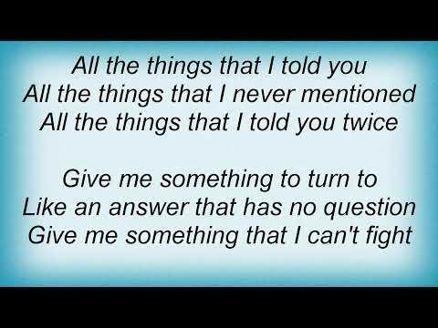 Atb - Hold You Lyrics