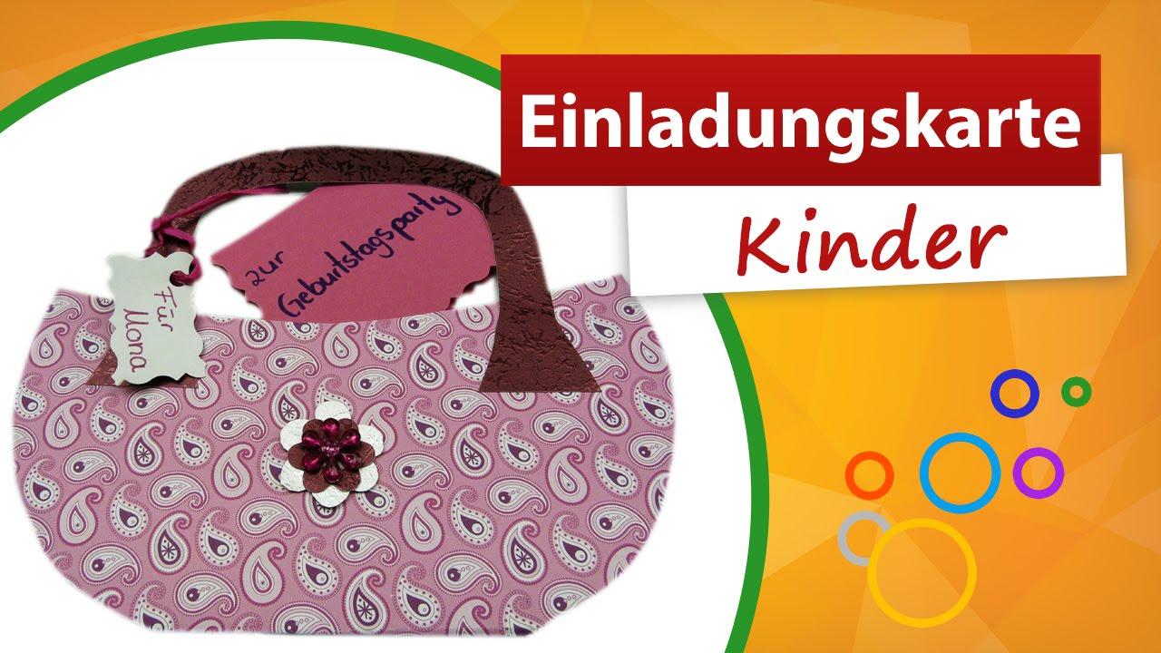 Einladungskarten Kindergeburtstag Basteln Trendmarkt24 Karten