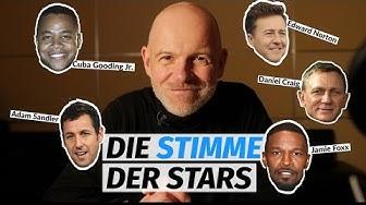 Synchronschauspieler: Dietmar Wunder Die Stimme der Stars