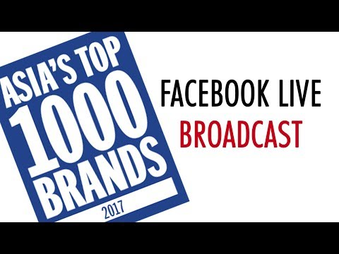 Top 1000 Brands: Facebook Live Broadcast