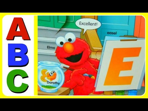 Learn ABC Alphabet With Sesame Street Elmo, Cookie Monster, Abby, Big Bird!  Educational Video For K