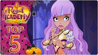 Regal Academy | Top 5 scariest moments!