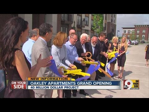 New high-end luxury apartment complex opens in Cincinnati