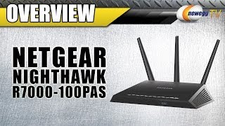 NETGEAR Nighthawk AC1900 Dual Band Wireless Gigabit Router Overview - Newegg TV