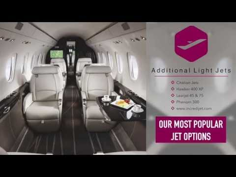 Light Private Jet Rental Price Info - Incredijet.com