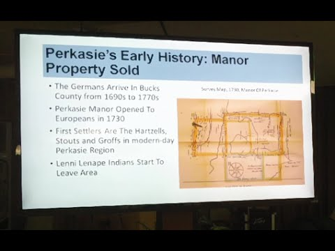 The Early History Of Perkasie